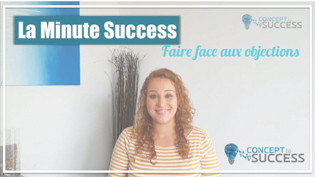 Cover de la minute success Objections