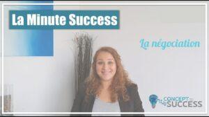 Cover de la minute success Negociation