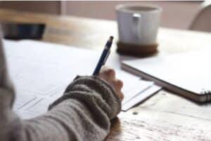 Presenter projet à l'écrit
